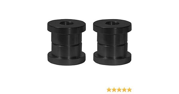 Black SMSTDSRBB Speed Merchant Standard Solid Riser Bushings