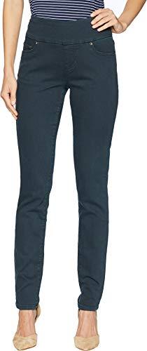 - Jag Jeans Women's Nora Skinny Pull on Jean, Blue Moon Knit Denim, 6