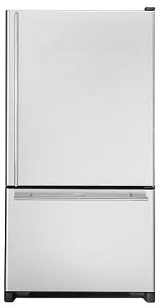 Jensen JBR2088HES Jenn Air 20 Cu. Ft. Cabinet Depth Bottom Mount  Refrigerator