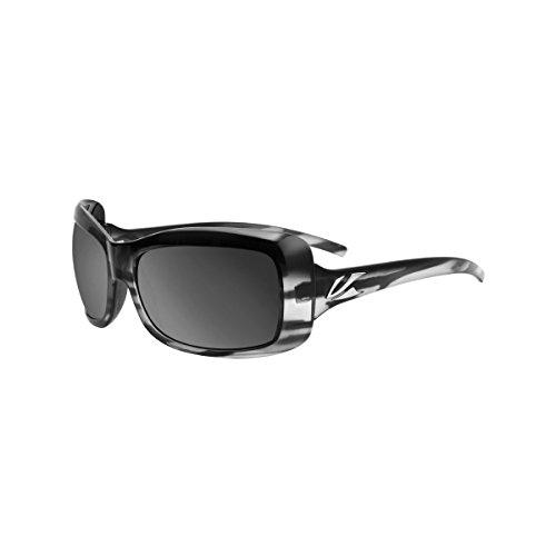 Kaenon Men's Georgia Smoke/Mirrors/Grey 12 Polarized Black Mirror Sunglasses