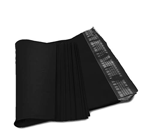 Poly mailers 19x24 Poly Bags 19 x 24. Premium Quality 3.2 mil. Pack of 50 Black Bags. Black Poly envelopes. Self Sealing Large Size Halloween Mailer. Packaging & Shipping envelopes.]()