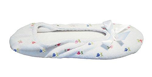 Zapato White Isotoner Talla Mujeres De Piso UvTn5qpx8w