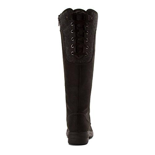 Clarks Womens Tavoy Cedar Boots Black Cow Full Grain Leather/Textile NKjagF