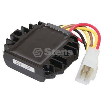 Stens 435-180 Voltage Regulator, Replaces John Deere: AM126304, M70121, M97348, 12V