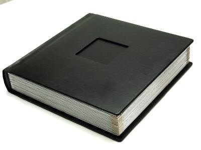 Professional 10x10 Black Silver Wedding Album 20 Pages