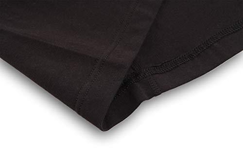 KEFITEVD T-shirt tactique pour homme avec fermeture éclair 1/4 - Avec poches sur les manches - Fermeture Velcro - Pour… 6