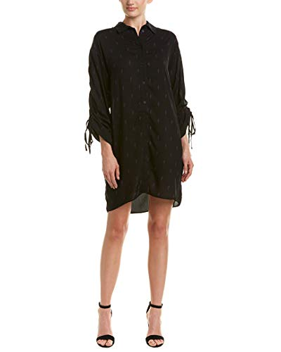 IRO Womens Desmith Shirtdress, 36, Black