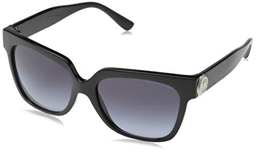 Michael Kors Women's Ena 0MK2054 55mm Black/Grey Gradient - Sunglasses Black Kors Michael