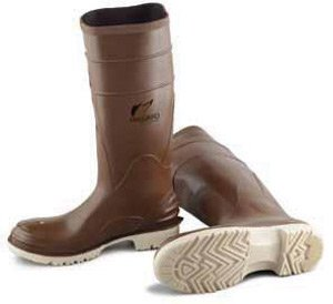 Bata Shoe (Bata Shoe 84076-09 Onguard Industries Size 9 Polymax Ultra Brown 16'' PVC Knee Boots With Ultragrip Sipe Outsole, Steel Toe And Removable Insole, English, 15.34 fl. oz., Plastic, 16