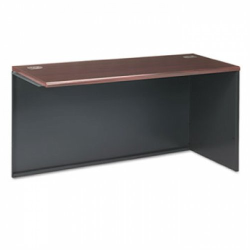 UPC 641128887571, 38000 Series Return Shell, Right, 60w x 24d x 29-1/2h, Mahogany/Charcoal