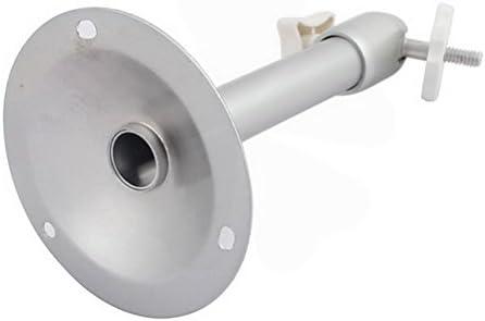 9cm Dia Round Base 18cm High Security Camera Aluminum Alloy Wall Mount Bracket 3Pcs by Ucland