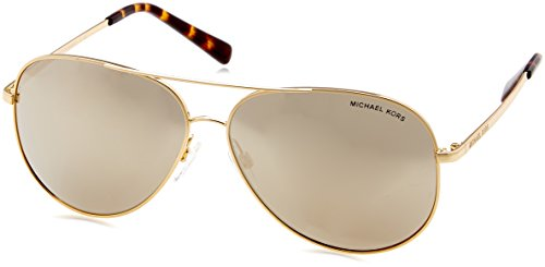 (Michael Kors Kendall I Pilot Sunglasses Gold Brown )