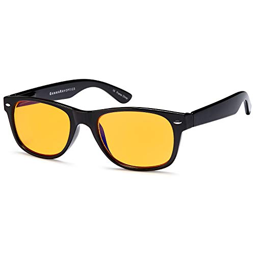 - Blue Light Blocking Glasses Orange Tint for Night
