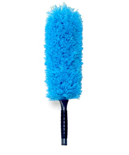 - EVERSPROUT Microfiber Feather Duster | Extra-Long 22'' Brush Head with Handle | Lightweight, Attracts Dust | Twists onto Standard Acme Threaded Pole | (Duster Attachment Only, No Pole)