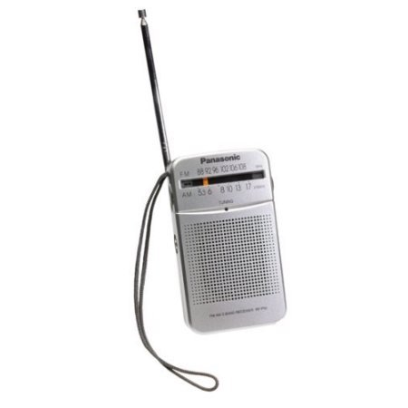 Panasonic AM/FM Pocket Radio RF-P50 WLM