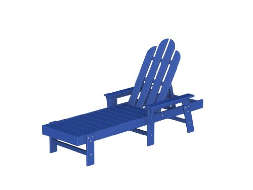 Long Island Chaise Lounge Frame Color: Pacific Blue
