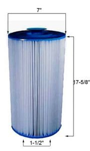 (Unicel C-7403 Replacement Filter Cartridge for 60 Square Foot Doughboy Skim-line)