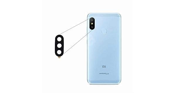 BisLinks®® Para Xiaomi Mi A2 Rear Back Cámara Lens Vaso Cover + ...