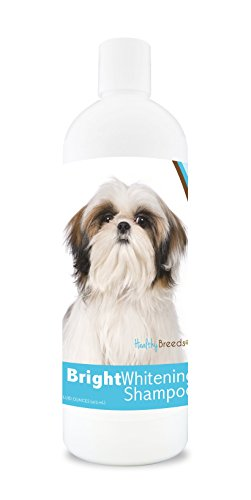 Healthy Breeds Bright Whitening Dog Shampoo for White & Lighter Fur