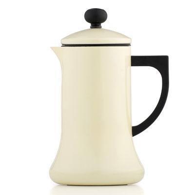 La Cafetiere CO000003 Coco Stovetop Hot Chocolate Pot, Cream