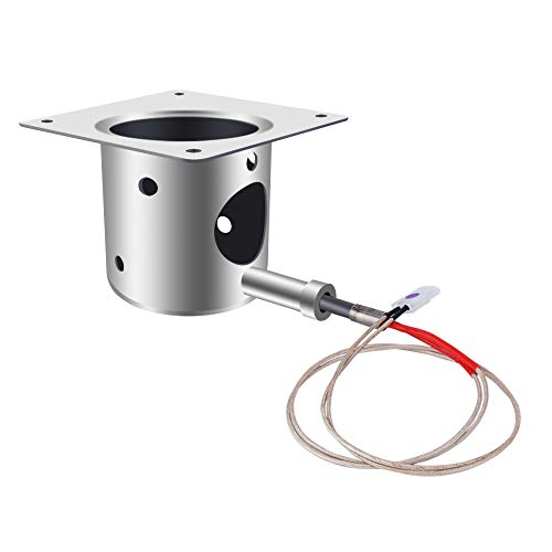 Fire Burn Pot and Hot Rod Ignitor Kit Replacement Parts for Traeger Wood Pellet Grills Fire Pot and Igniter Combo ()