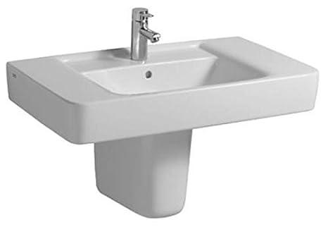 Keramag Waschbecken Renova Nr 1 Plan 122186 85x48cm Weiss Alpin