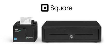 SQUARE and SHOPIFY POS HARDWARE BUNDLE - Star Micronics TSP143IIILAN  39464910 ETHERNET (LAN) Printer and Cash Drawer