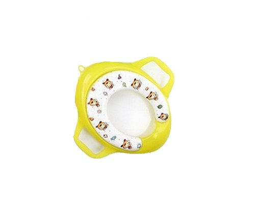 Gaorui baby soft toilet seat cushion child seat with handles baby toilet seats_Candy bee