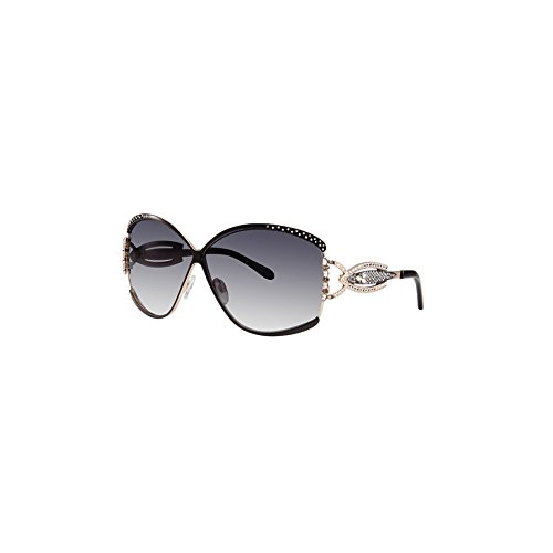 Caviar 5627 Sunglasses Champagne C24 Black Gold Authentic Brand (Caviar Glasses)