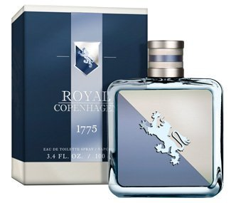 1775 Royal Copenhagen Eau de Toilette Spray for Men, 3.4 Fluid Ounce