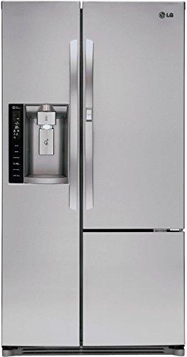 LG LSXS26386S 26 cu. ft. Side-by-Side Refrigerator (Best 26 Cu Ft Refrigerator)