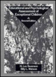 Educational and Psychological Assessment of Exceptional Children: Theories, Strategies, and Applications (2nd Edition)