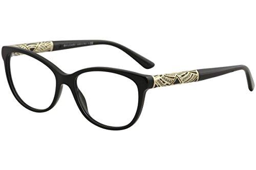 Bvlgari Women's BV4126B Eyeglasses Black - Prescription Bvlgari Eyeglasses