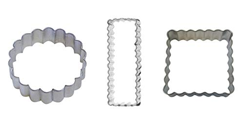 Fluted Cookie Cutter Set - Shortbread 3