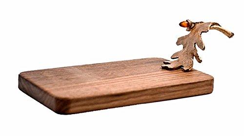 (Oak Leaf Cheese Board by Michael Michaud CB09AB)