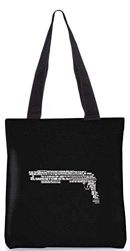 """Snoogg Minimalismus Tragetasche 13,5 X 15 In """"Einkaufstasche Dienstprogramm Trage Von Polyester Canvas"""