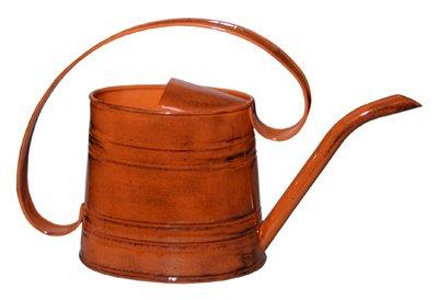 Robert Allen MPT01506 Watering Can, Metal, Orange, .5-Gal. - Quantity 6 by Robert Allen