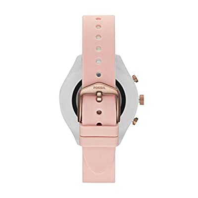 Fossil Women Gen 4 Sport Metal and Silicone Touchscreen Smartwatch