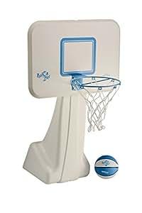 Dunnrite PoolSport Pool Basketball Hoop with 13.5 inch Stainless Steel Rim