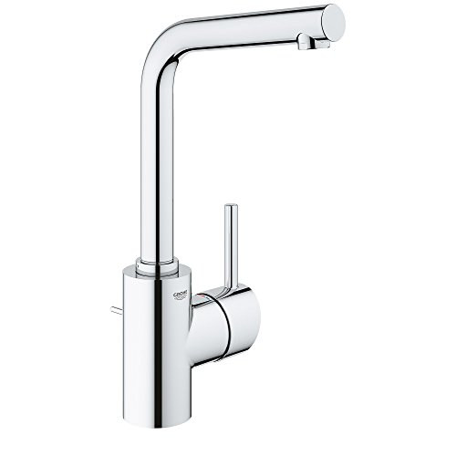 (GROHE 23737001 Concetto single Hole Single-Handle Bathroom Faucet In Starlight Chrome)