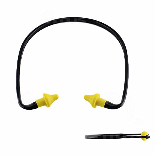 2 PACK EAR PLUGS NECK BAND SHOOTING FIRING RANGE HEARING NOISE SOUND PROTECTION by Unknown (Image #1)