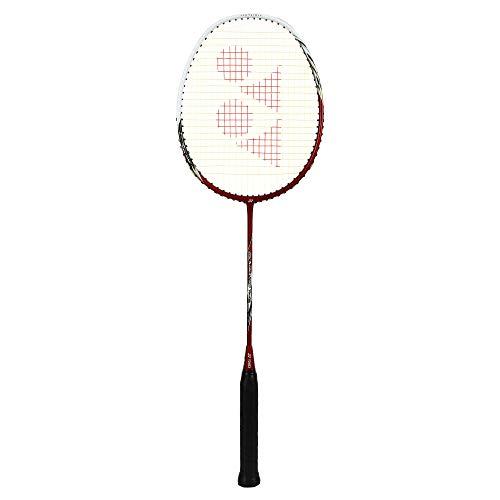 YONEX Arcsaber 200 Taufik Strung Graphite Badminton Racquet   Red , G4 , 80 84.9 grams , 24 lbs