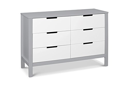 Carter's by DaVinci Colby 6-Drawer Double - Furniture Modern Dressers