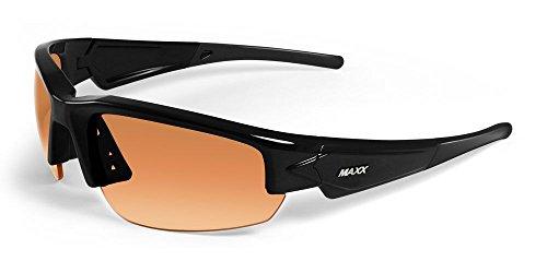 2017 Maxx Sunglasses TR90 Dynasty 2.0 HD Black Amber - Sunglasses Hd Maxx