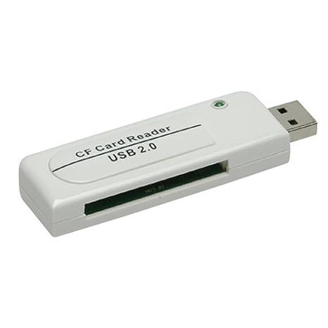 Amazon.com: PQI USB 2.0 lector de tarjetas CompactFlash (CF ...