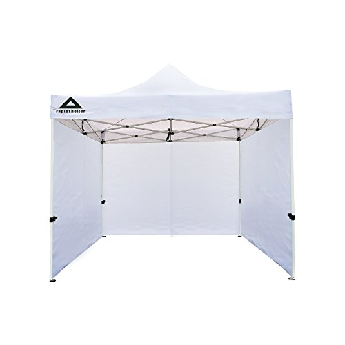 Tent Caddis - Caddis Sports Rapid Shelter Sidewall, White, 10'x10'
