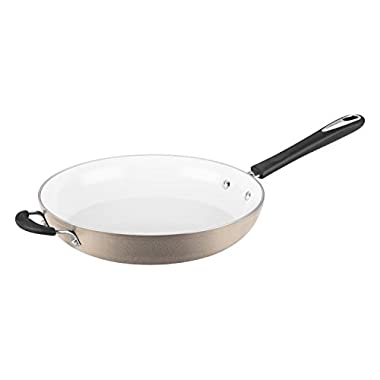 Cuisinart Open Skillet with Helper Handle, 12 , Champagne