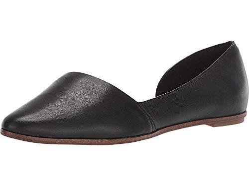 ALDO Women's Gworeria Black Smooth Leather 38 B EU (Aldo Flats Black)