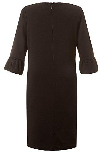 ... GINA_LAURA Damen | Jersey-Kleid | Volant-Ärmel| Größe S-XXXL |
