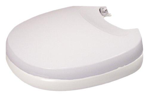 Thetford 31704 Aqua-Magic V Toilet Seat Cover Assembly, Parchment